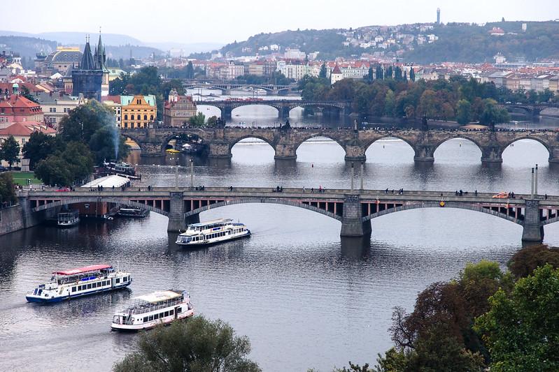 Puentes sobre el Moldava.