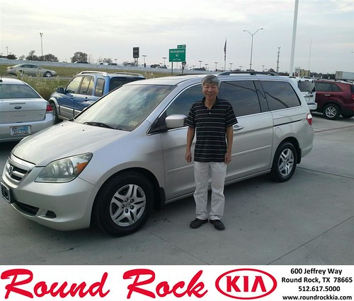 Thank you to Jang Lim on your new car  from Eric Armendariz and everyone at Round Rock Kia! #NewCarSmell by RoundRockKia