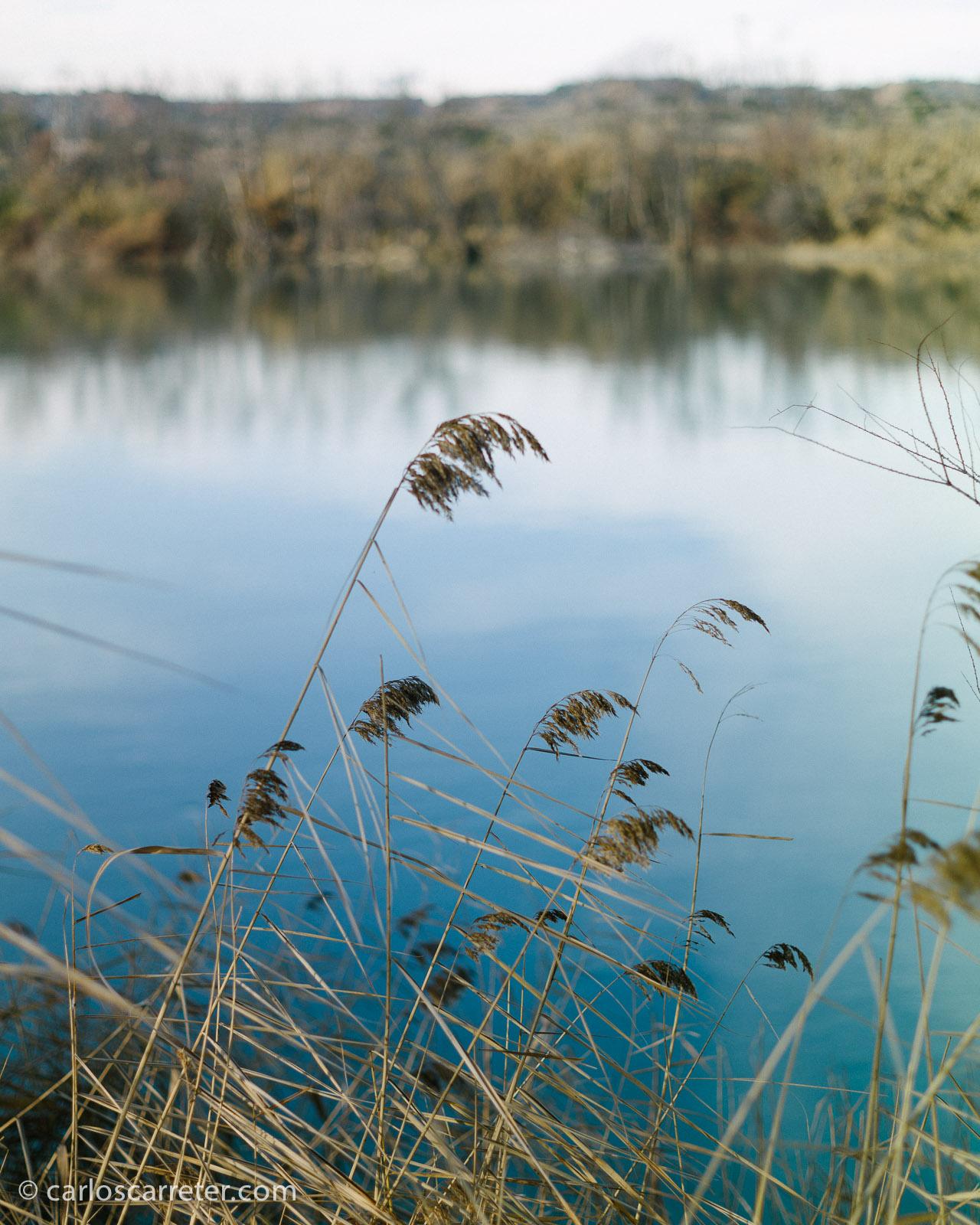El río Ebro en Escatrón