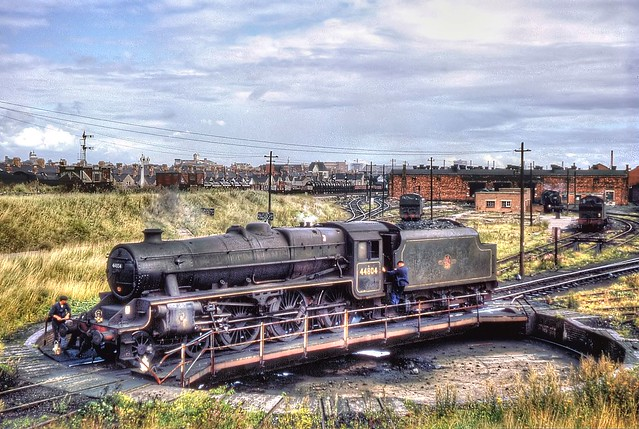 Black 5 44804 Cardiff Canton Sept 1962 by John Wiltshire