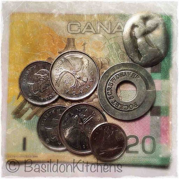 May 21 - coins {the contents of my hubby's pocket} #photoaday