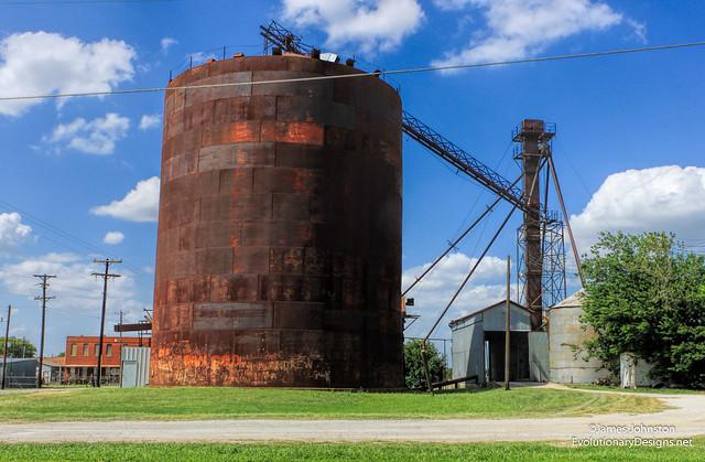 Abandoned Grain Silo