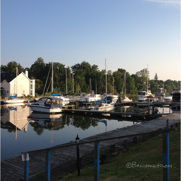 July 17 - inspirational {Picton harbour; one of the many beautiful sights in my home county} how could you not be inspired? No filters! #fmsphotoaday #inspiration #picton #princeedwardcounty #harbour #boats #sailboats #reflection