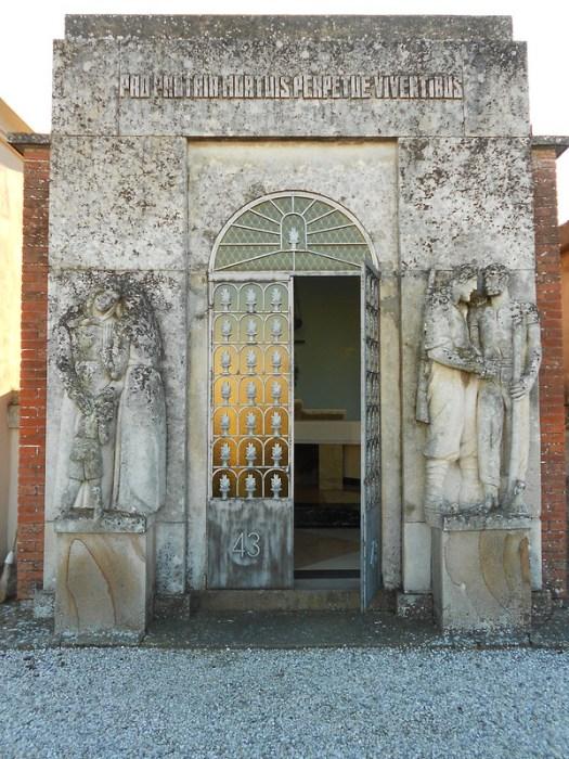 tomba 43 vittime uccise nel 1944, Virgilio Milani  Villamarzana