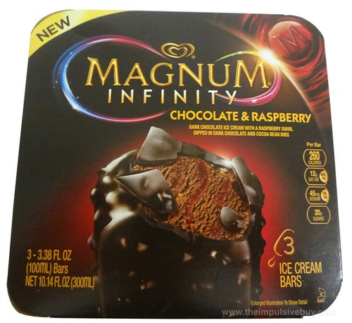 Magnum Infinity Chocolate & Raspberry Ice Cream Bars