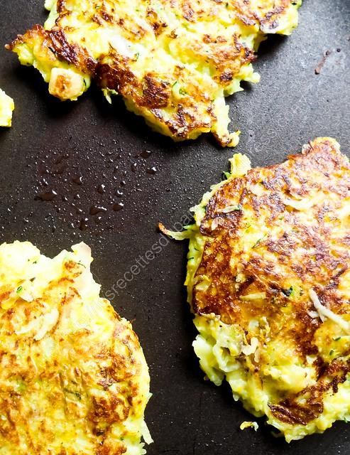 Galettes Courgettes & Pommes de terre / Zucchini & Potato Pancakes