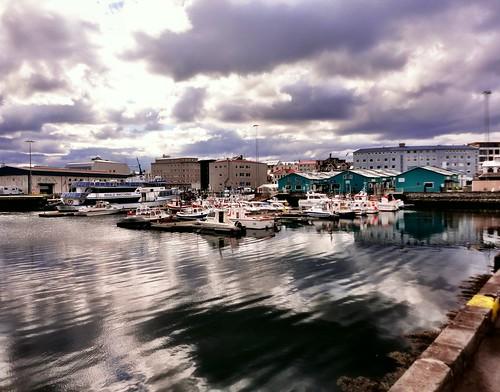 Reykjavik harbor by SpatzMe