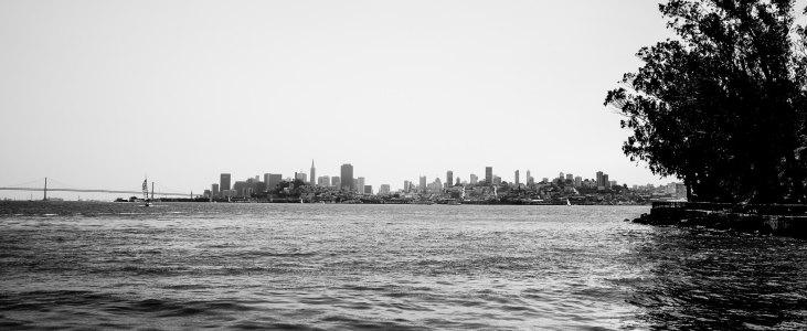 The Bay from Alcatraz
