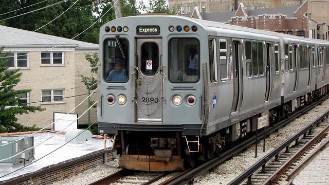 Purple Line express train