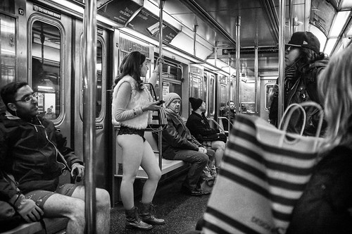No Pants Subway Ride 2014 - 02 by mkc609