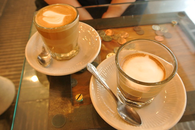 Macchiato and Cortado