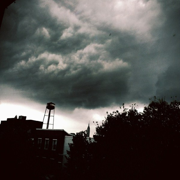 Stormy Labor Day.