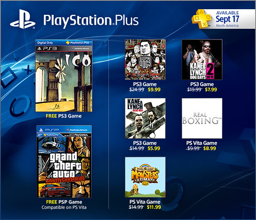 PlayStation Store Update 9-17-2013