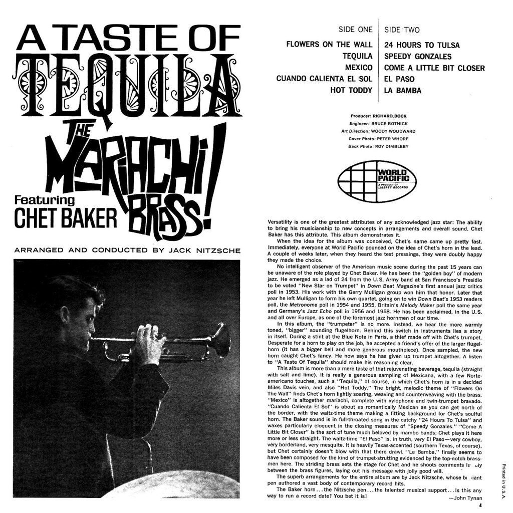 The Mariachi Brass - A Taste of Tequila