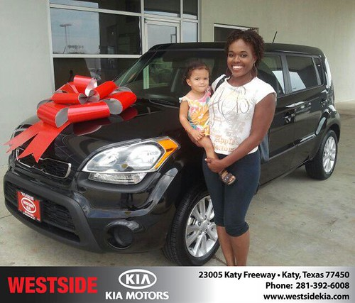 Happy Birthday to Kimbanisha Cater from Gil Guzman and everyone at Westside Kia! #BDay by Westside KIA