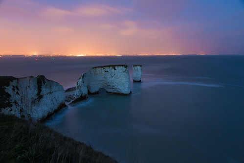 False Dawn (Bournemouth & Old Harry), Dorset by flatworldsedge