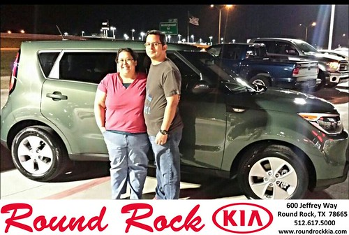 Congratulations to Carmen Goode on your #Kia #Soul purchase from Kelly  Cameron at Round Rock Kia! #NewCar by RoundRockKia