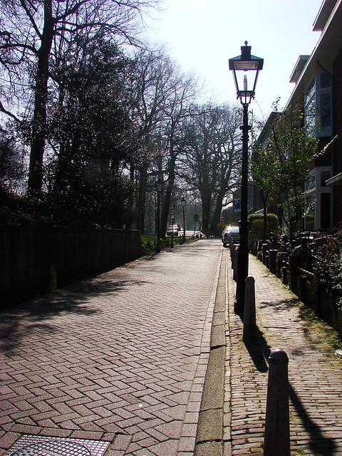Brick Street in the Sun
