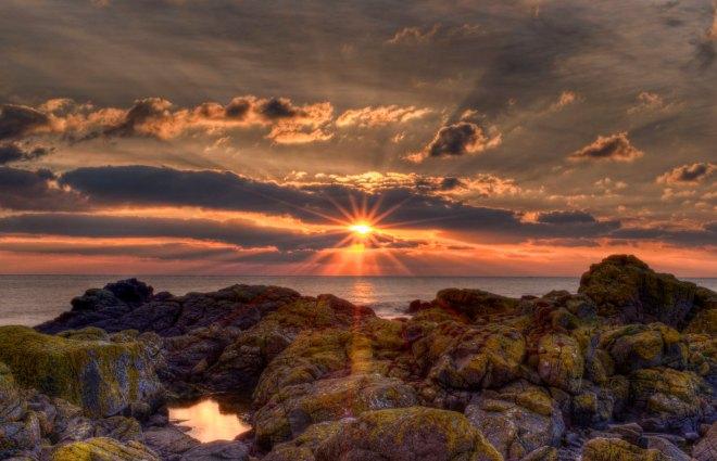 Gauldrons Bay Sunset
