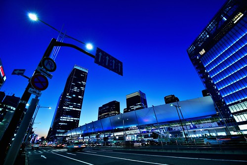 The Other Side of Tokyo Station by hidesax