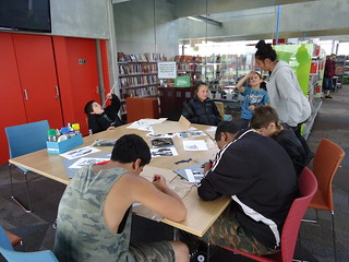 Aranui Library holiday activities