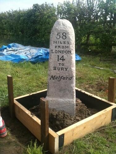 Long Melford Milestone