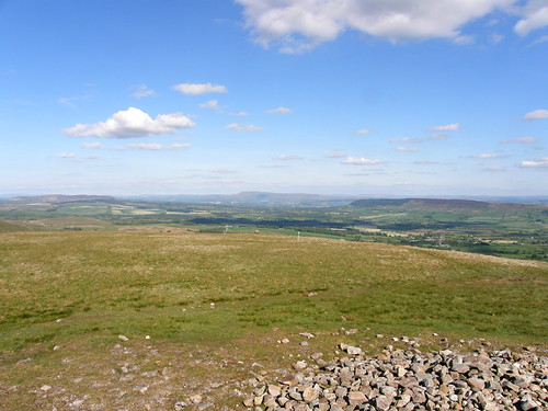 Pendle Hill from the summit of Parlick Fell