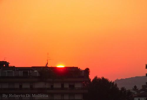 Tramonto a Frosinone by Roberto Di Molfetta