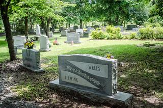 Modern Headstones - Biggins Cemetery