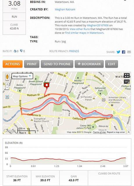 3 mile loop