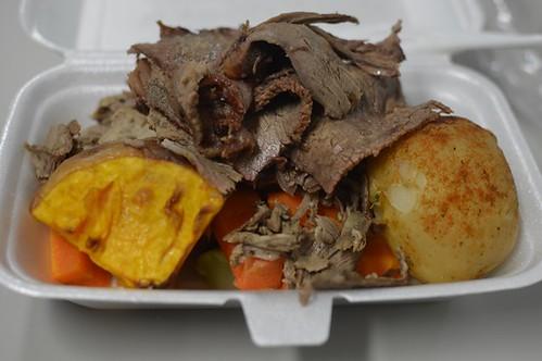 Roast meat & veggies