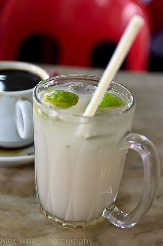Malaysian Chicory Coffee/Barley Lime Drink