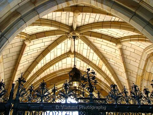 Memorial Quadrangle ceiling