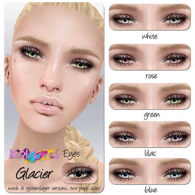 [KoKoLoReS] Eyes - Glacier