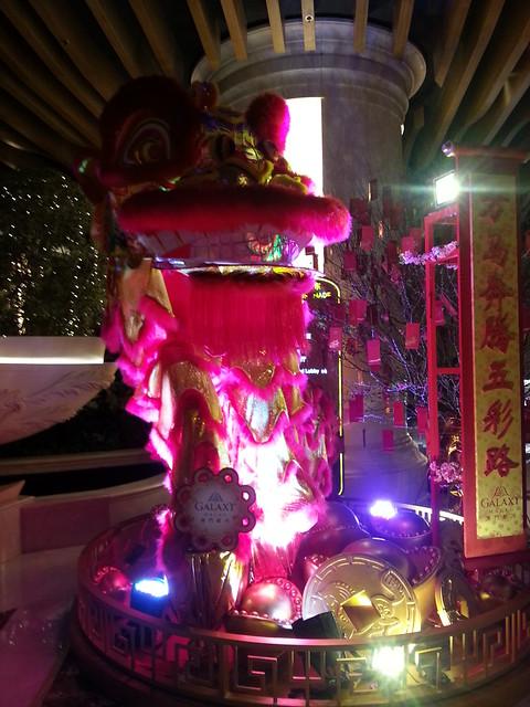 Interior Decoration of Galaxy Macau