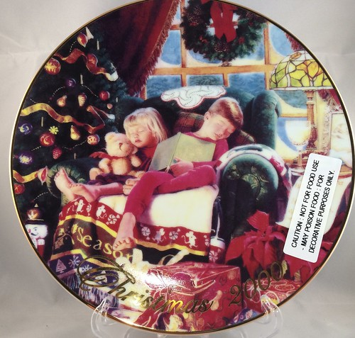 Avon 2000 Christmas Plate @Findavon.com