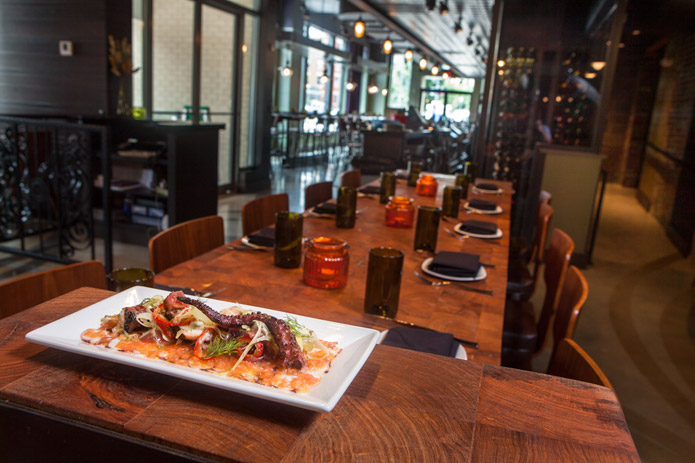 BYT takes a first look at Mike Isabella\'s new Greek themed restaurant, Kapnos.