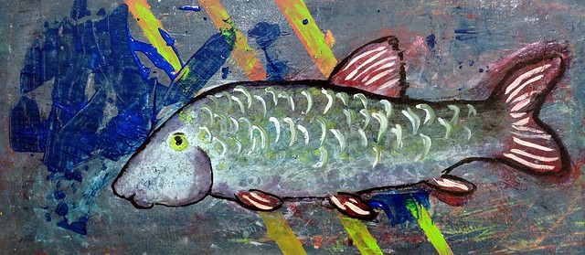 Redhorse painting