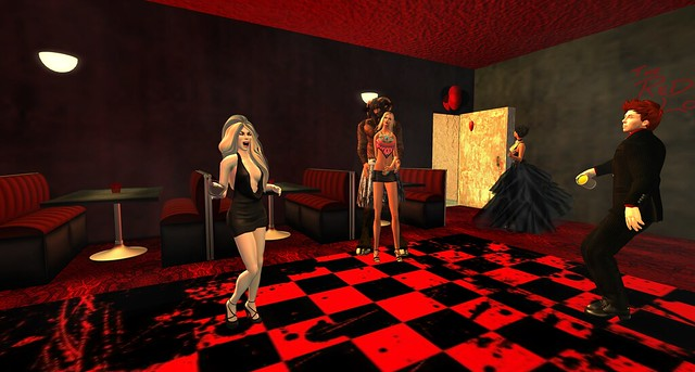 'The Red Lounge' Grand Opening