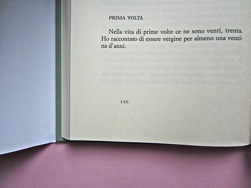 Alfabeto Poli, a cura di Luca Scarlini. Einaudi 2013. [resp. graf. e iconograf. non indicata]. Fotog. di cop.: ritr. b/n di P. Poli di G. Harari. Pag. 110 (part.), 1