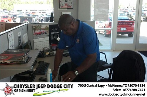 Thank you to Brian Purnell on your new 2014 #Jeep #Grand Cherokee from Brian Purnell and everyone at Dodge City of McKinney! #LoveMyNewCar by Dodge City McKinney Texas