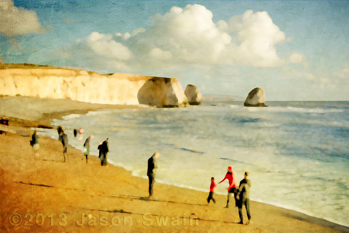 Winters day at Freshwater Bay