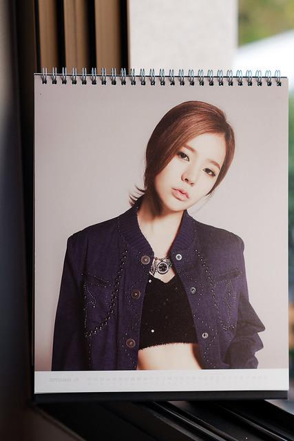 SNSD 2014 Calendar: Sunny