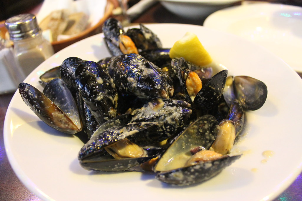 Mejillones al vino blanco en 'The Brazed Head', Dublín