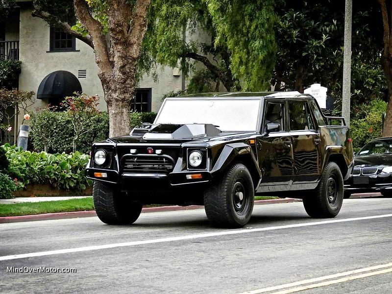 Lamborghini LM002 in Monterey, California