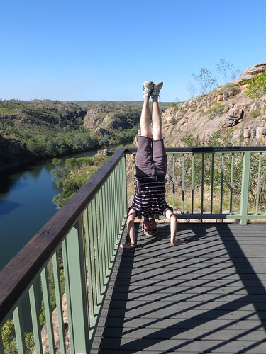 65. katherine gorge headstand
