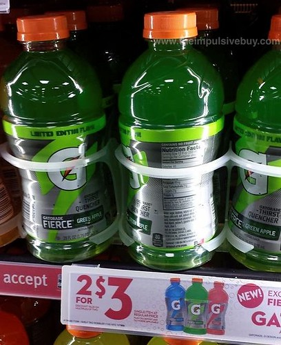 Limited Edition Gatorade Fierce Green Apple