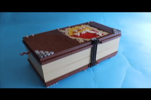Medieval Pop-up book