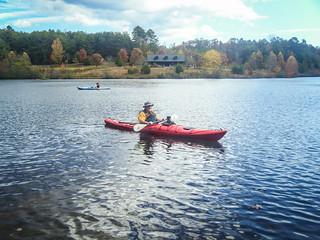 Stephen on Lake Oolenoy