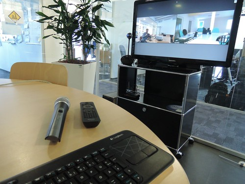 video conference station